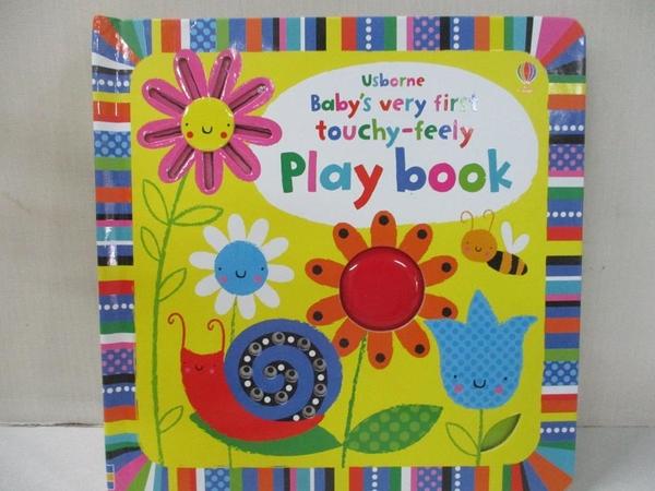 【書寶二手書T2/少年童書_BQQ】Baby s Very First Touchy-Feely Playbook_Fiona Watt,Stella Baggott