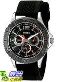 [105美國直購] Timex Mens 男士手錶 Taft Street Quartz Brass and Silicone Casual Watch, Color:Black (Model: TW2P875009J)