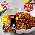 韓國 OTTOGI 不倒翁 金炸醬炒碼麵 (四包入) 540g 炸醬炒碼麵 炸醬 炸醬麵 炒碼 炒碼麵 泡麵
