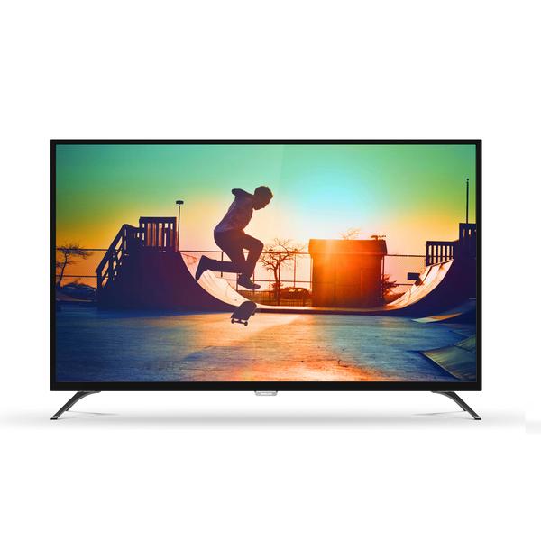 贈聲霸 免運費 PHILIPS 飛利浦 55型4K LED低藍光智慧 電視/顯示器(含電視視訊盒) 55PUH6052