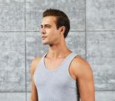 男士背心 男士背心男棉質夏季潮跨欄運動健身打底修身透氣白色【免運直出】