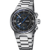 限量500只 ORIS 豪利時 F1 Williams Martini Racing 機械錶-44mm 0177477174184-SETMB