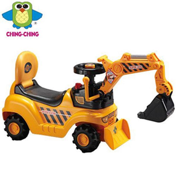 親親 兒童挖土機造型學步車