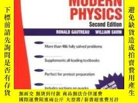 二手書博民逛書店Schaum s罕見Outline Of Modern Phys
