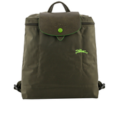 【LONGCHAMP】LE PLIAGE CLUB尼龍折疊後背包(冷杉綠色) L1699 619 549