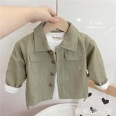 兒童外套 男童外套春秋款1洋氣潮3周歲男寶寶夾克衫小童2薄款4兒童秋裝上衣 歐歐