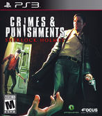 PS3 Crimes and Punishments: Sherlock Holmes 福爾摩斯 罪與罰(美版代購)
