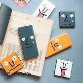 (限時85折)韓國尷尬表情可愛創意迷你充電寶超薄卡片移動電源安卓蘋果通用