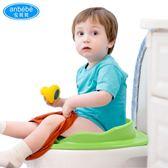 安貝貝加厚兒童坐便器馬桶圈軟坐墊女孩男寶寶廁所嬰兒座便器通用  百搭潮品