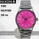 NIXON 實體店THE SENTRY 38 SS潮流腕錶A450-2096公司貨/極限運動/潮流