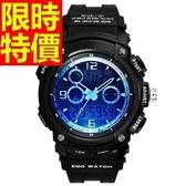 電子錶-防水必買潮流運動手錶3色58j16【時尚巴黎】