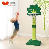 兒童籃球架 兒童籃球架可升降投籃架籃球筐家用室內戶外寶寶男孩球類玩具wy