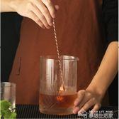 胡桃里活塞式吧勺 玫瑰金吧匙 雞尾酒 美式分層攪拌棒 調酒師工具  夢想生活家