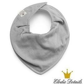 【瑞典ELODIE DETAILS】有機棉領巾型口水巾 大理石灰