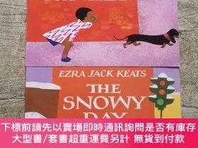 二手書博民逛書店EZRA罕見JACK KEATS:The Snowy Day+WHISTLE FOR WILLIE【2不合售】