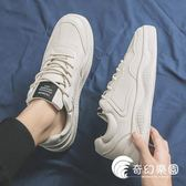 休閒鞋-新款春季男鞋韓版情侶鞋子小白板鞋帆布休閑潮鞋網紅百搭白鞋-奇幻樂園