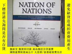 二手書博民逛書店NATION罕見OF NATIONS (0002)Y180897