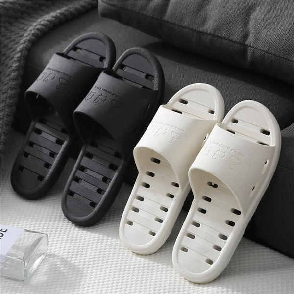 2雙 拖鞋女家用涼拖鞋室內浴室防滑速干洗澡居家情侶男【倪醬小舖】