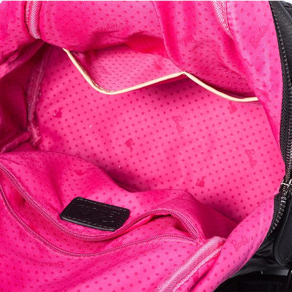 芭比復古系列 個性編織風鉚釘雙肩背包