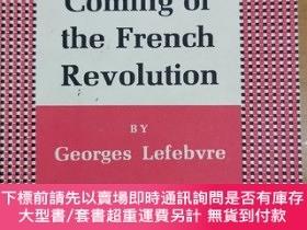 二手書博民逛書店英文原版:The Coming罕見,of the French RevolutionY367822 BY