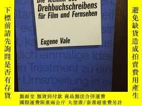 二手書博民逛書店Die罕見Technik Des Drehbuchschreibens Für Film Und Fernsehe
