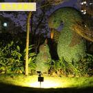 太陽能燈戶外防水庭院燈led花園景觀燈超亮家用射燈新農村草坪燈 MKS薇薇