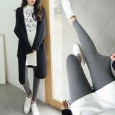 冬季加絨加厚打底褲女薄款外穿韓版百搭九分緊身秋褲秋季 可可鞋櫃