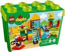 樂高LEGO DUPLO 大遊樂場顆粒盒...