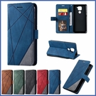 小米 紅米Note9 紅米Note9 Pro 菱形壓紋皮套 手機皮套 插卡 支架 掀蓋殼 保護套