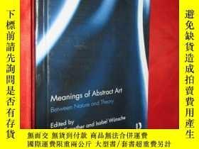 二手書博民逛書店Meanings罕見of Abstract Art: Betwe