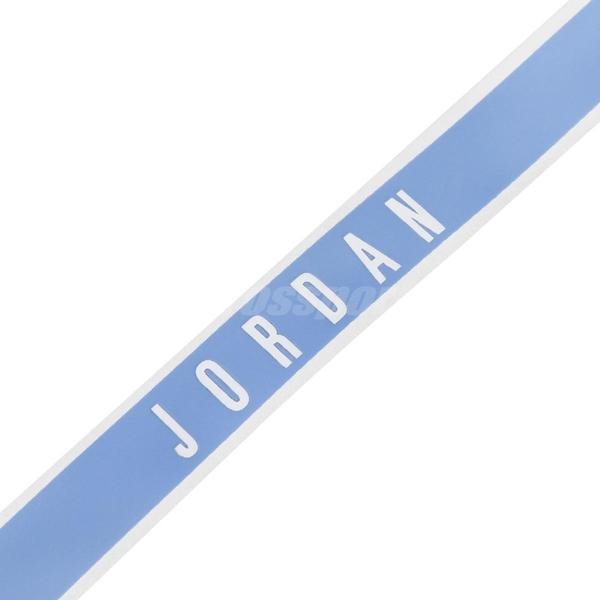 Nike 識別證帶 Jordan Reflective Lanyard 藍 白 反光 喬丹 吊帶 掛繩 【ACS】 J000196444-0NS