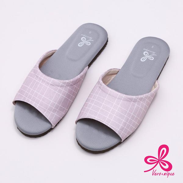 【333家居鞋館】維諾妮卡│生活品味乳膠室內拖鞋-粉色 (3M吸濕排汗專利)