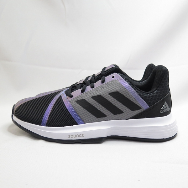 ADIDAS COURTJAM BOUNCE M 男款 網球鞋 運動鞋 FX1493 黑紫【iSport愛運動】