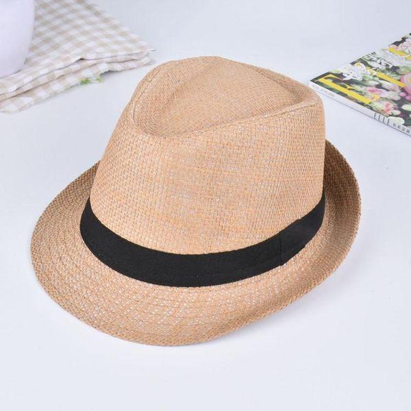 男帽子 遮陽帽 新款時尚春夏季 男女士 小禮帽《印象精品》yx445