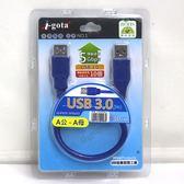 I-gota USB3.0  A公-A母 高速傳輸線 30CM(F20USIG0039)(U3AAPS0.3)