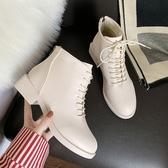 英倫風年新款秋季鞋子百搭ins潮鞋秋款靴子短靴 水晶鞋坊