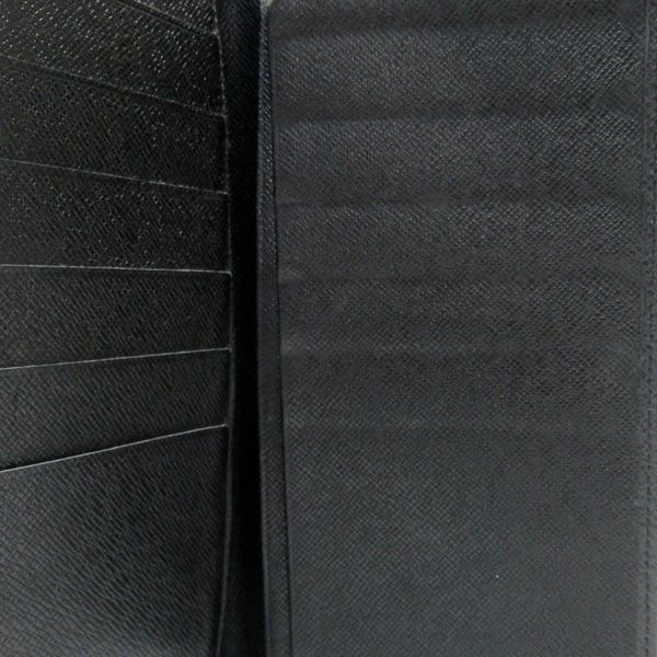 LOUIS VUITTON LV 路易威登 黑色牛皮兩折長夾 M30392 【二手名牌 BRAND OFF】