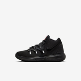 Nike Kyrie 5 PS [AQ2458-016] 中童鞋 籃球 運動 休閒 舒適 柔軟 輕量 包覆 穿搭 黑白