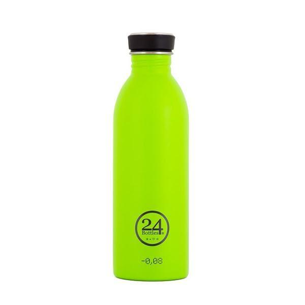 義大利 24Bottles 城市水瓶 500ml/檸檬綠