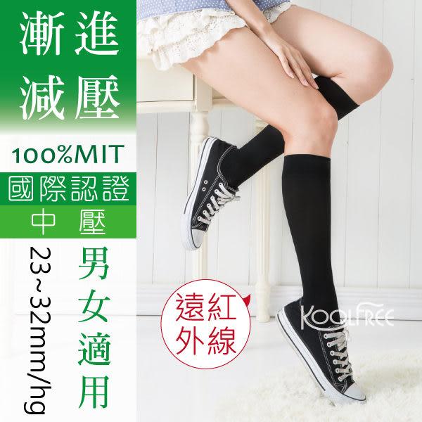 【康護你】壓力襪│小腿襪│彈性襪│樂活旅行家 漸進式壓力★美腿 男女適用