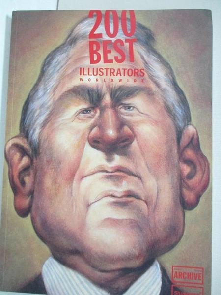 【書寶二手書T1/藝術_JWI】200 Best Illustrators Worldwide_Furzer, Walter
