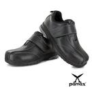 PAMAX帕瑪斯【頂級氣墊止滑安全鞋】PS56910FEH-黏貼式設計、後腳跟反光設計、專利氣墊鞋墊