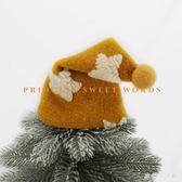 聖誕帽 圣誕樹頂帽子韓國羊毛氈帽圣誕裝飾材料星星波點圣誕節 nm12757【歐爸生活館】
