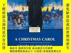 二手書博民逛書店A罕見Christmas Carol (Enriched Cla
