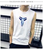 男無袖T恤純棉寬松運動透氣薄款跑步背心 BF1403【旅行者】
