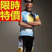 自行車衣套裝-必敗透氣典型新款男短袖單車衣55u40[時尚巴黎]