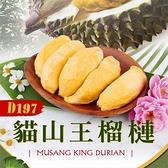 【水產優】D197貓山王榴槤1盒組(400g/盒)