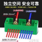 電線連接端子 二進十二出接線端子電線分線器接線盒明裝連接器帶端子家用分線盒 3C公社