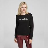 Karl Lagerfeld 卡爾 老佛爺 IKONIK Choupette 運動衫-黑