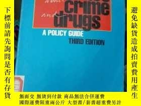二手書博民逛書店sense罕見and nonsense about crime